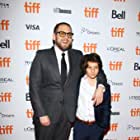 Jonah Hill and Sunny Suljic at an event for Mid90s (2018)