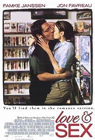 Famke Janssen and Jon Favreau in Love & Sex (2000)