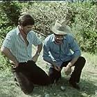 Michel Duchaussoy and Pierre Santini in Un juge, un flic (1977)