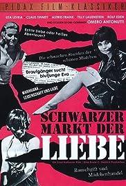 Schwarzer Markt der Liebe Poster