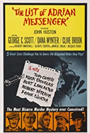 The List of Adrian Messenger Poster