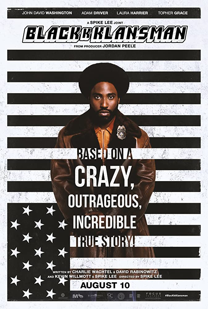 BlacKkKlansman 2018 Dual Audio Hindi ORG 450MB BluRay 480p ESubs Download