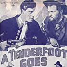 Russell Gleason, Jack La Rue, and John Merton in A Tenderfoot Goes West (1936)