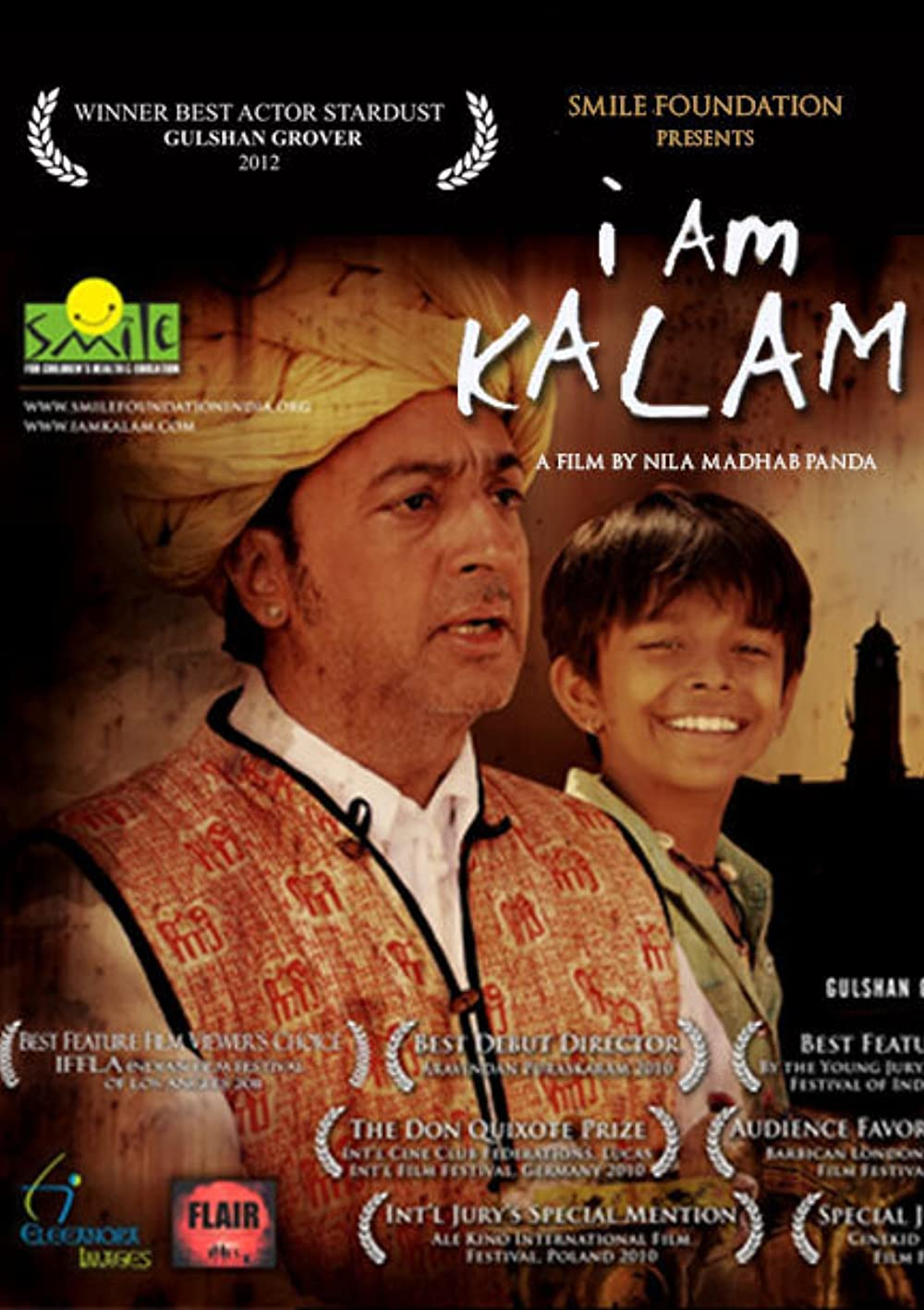 I Am Kalam 2010 Hindi Dual Audio 720p BluRay 640MB ESub Download