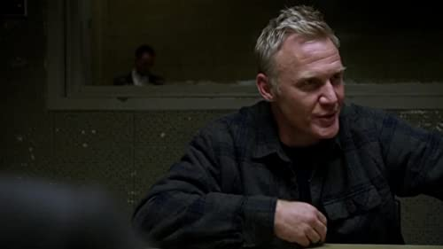 Scene from Elementary with Terry Serpico