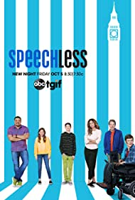 Minnie Driver, John Ross Bowie, Cedric Yarbrough, Kyla Kenedy, Mason Cook, and Micah Fowler in Speechless (2016)