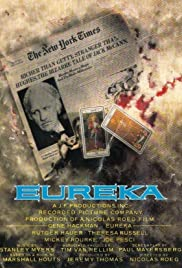 Eureka (1983) Poster - Movie Forum, Cast, Reviews