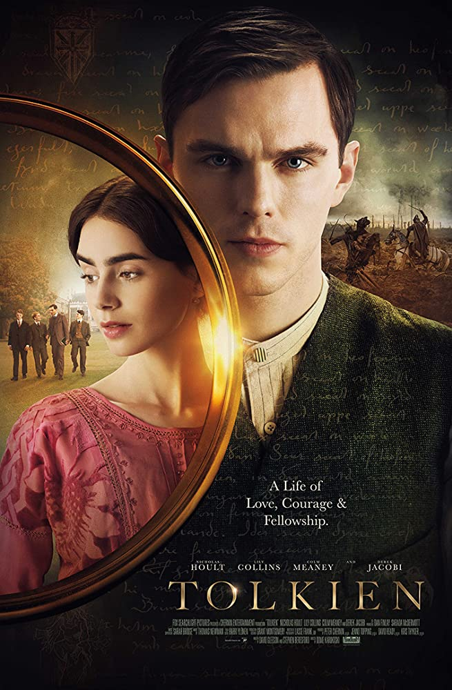 Tolkien 2019 Dual Audio Hindi 350MB BluRay 480p ESubs