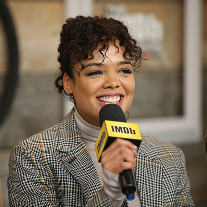 Tessa Thompson at an event for Sorry to Bother You (2018)