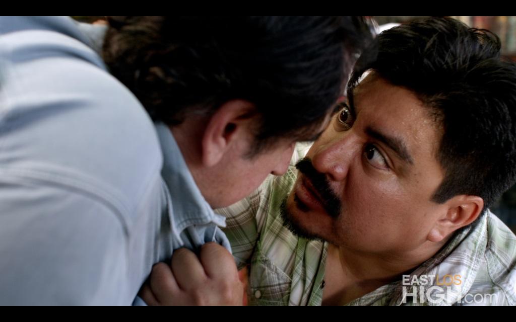 Richard Azurdia as RAMON on Hulu's EAST LOS HIGH