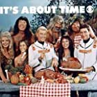 Frank Aletter, Pat Cardi, Imogene Coca, Mike Mazurki, Jack Mullaney, Cliff Norton, Joe E. Ross, and Mary Grace in It's About Time (1966)