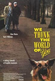 We Think the World of You Poster