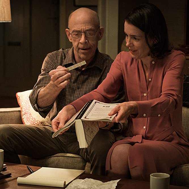 J.K. Simmons and Olivia Williams in Counterpart (2017)