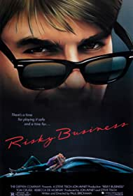Tom Cruise in Risky Business (1983)