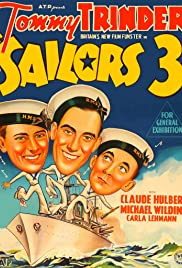 Three Cockeyed Sailors Poster
