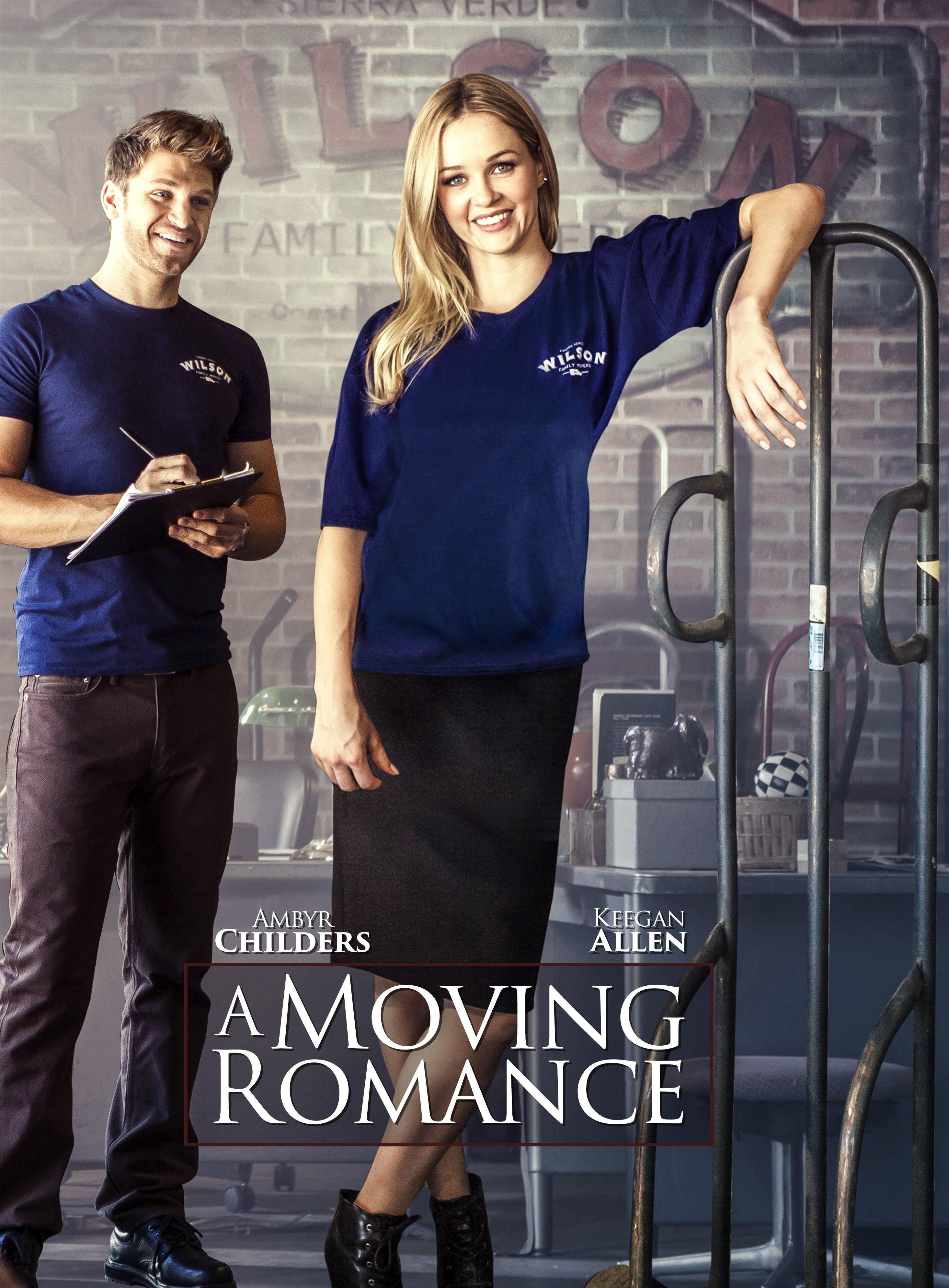 a moving romance movie cast