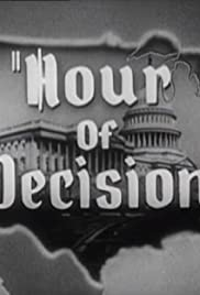 Hour of Decision Poster