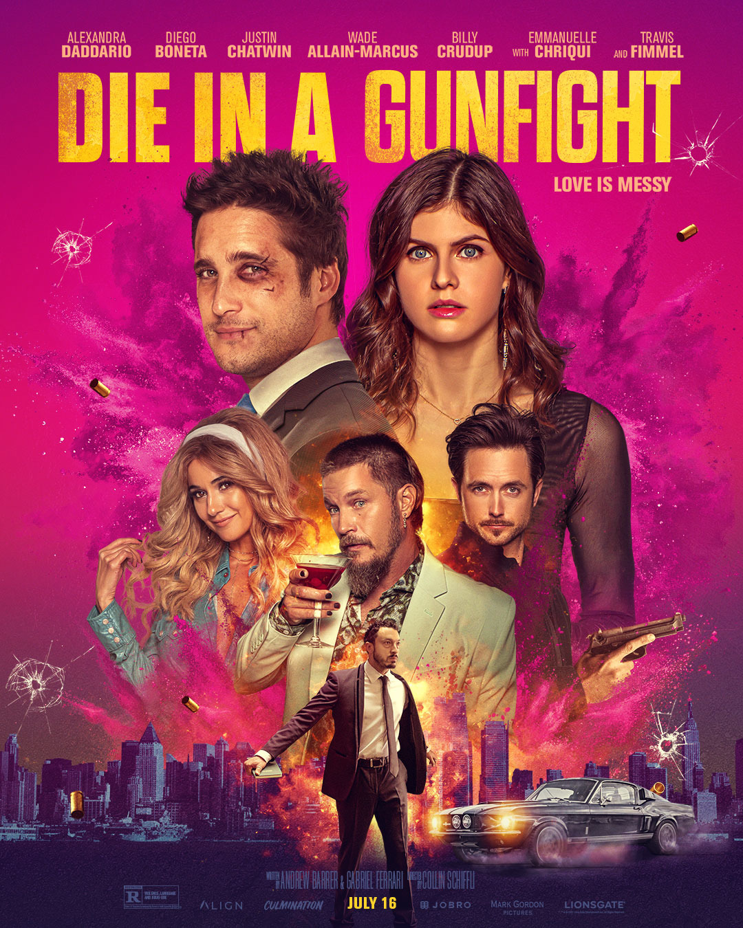 Die in a Gunfight (2021) Hindi Dubbed 720p HDRip 750MB Download