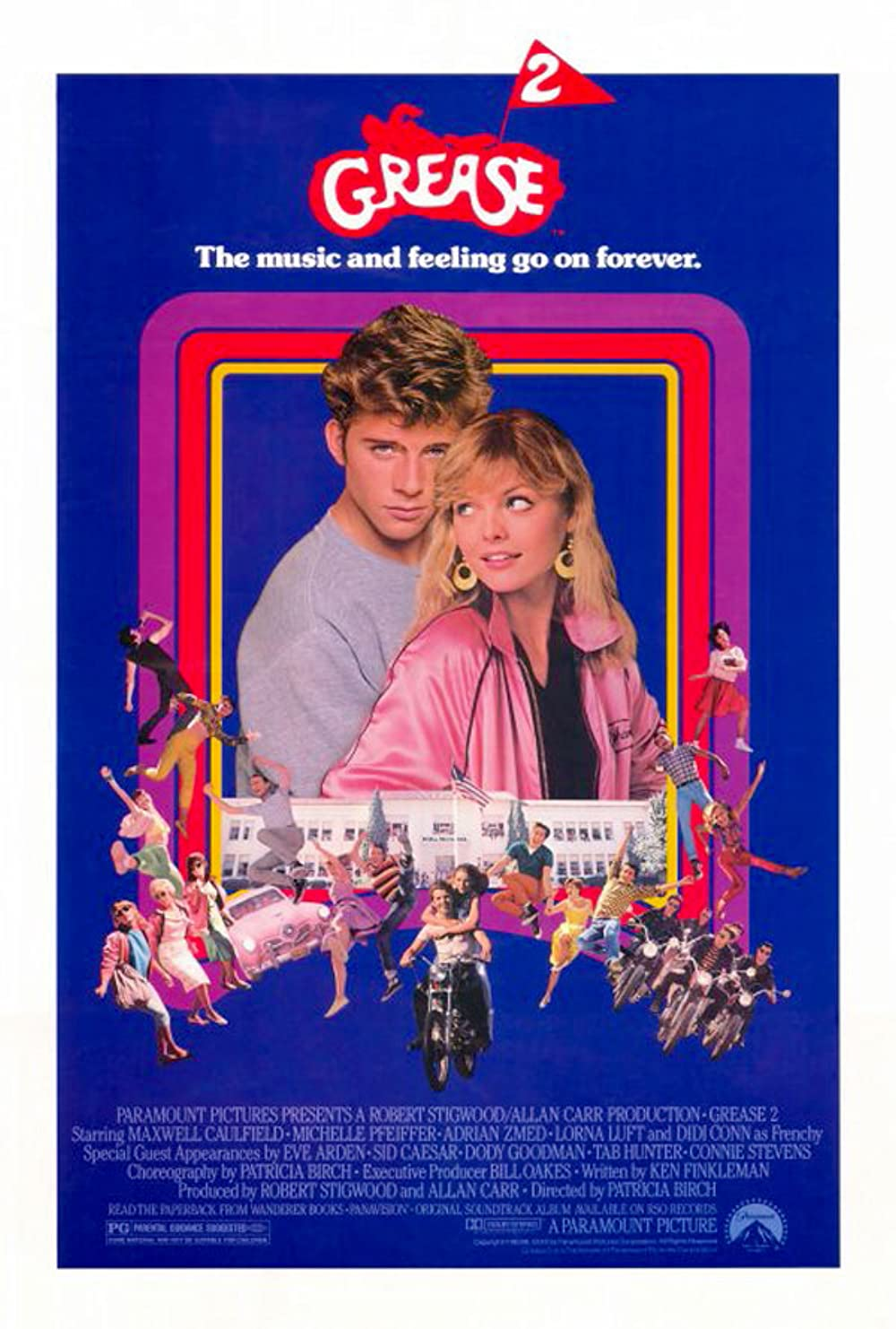 Grease 2 1982 Hindi Dual Audio 720p BluRay ESubs 842MB Download