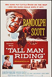 Tall Man Riding Poster