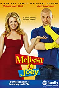 Melissa Joan Hart and Joey Lawrence in Melissa & Joey (2010)