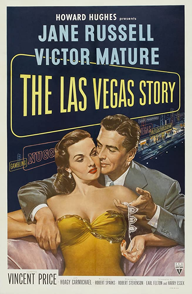 Jane Russell and Victor Mature in The Las Vegas Story (1952)