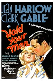 Clark Gable and Jean Harlow in Hold Your Man (1933)