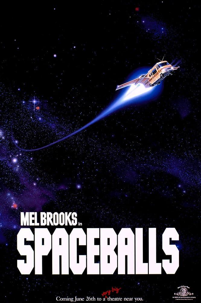 Mel Brooks in Spaceballs (1987)