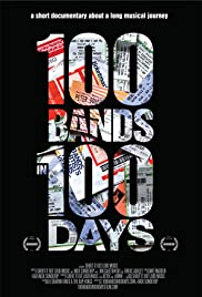 100 Bands in 100 Days Poster
