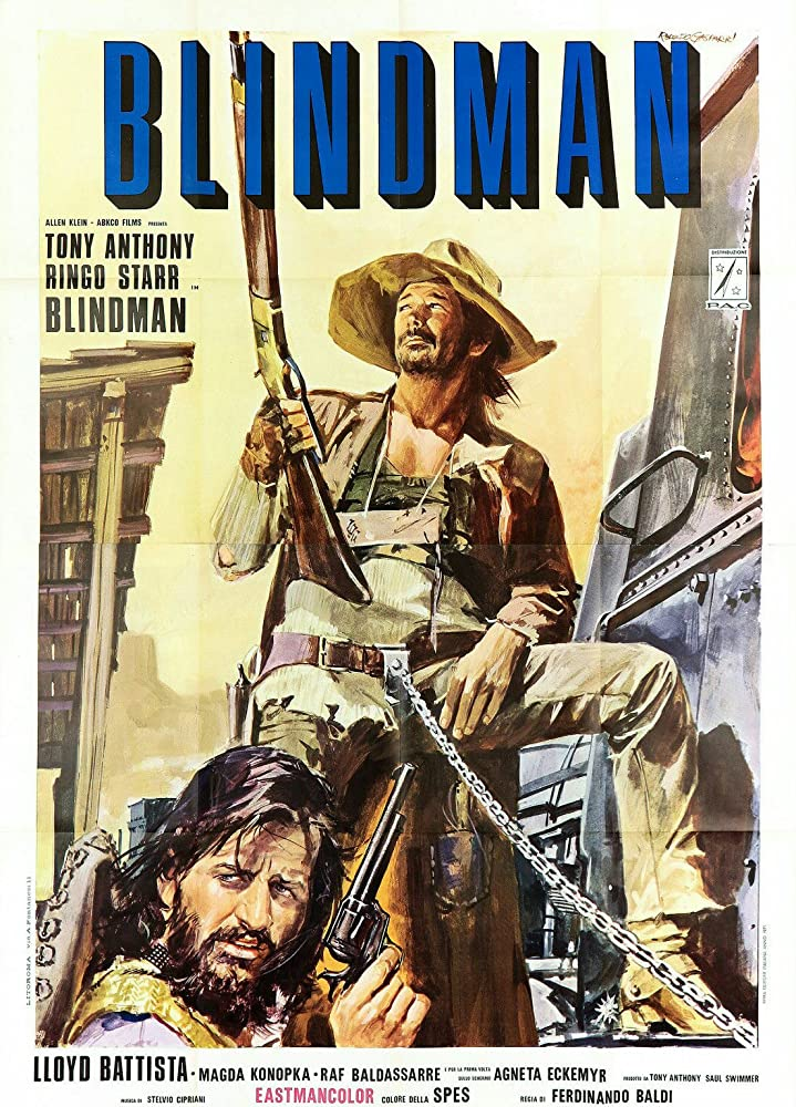Image result for Blindman 1971 posters