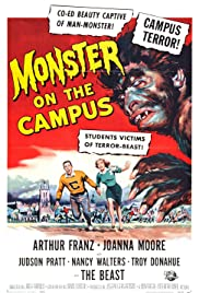 Monster on the Campus (1958) Poster - Movie Forum, Cast, Reviews