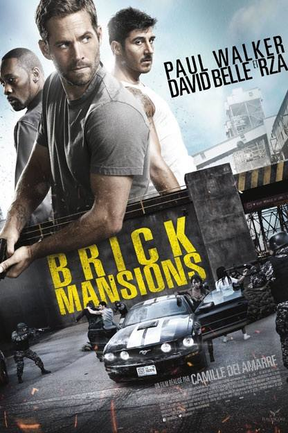 Brick Mansions 2014 Hindi ORG Dual Audio 480p BluRay 350MB x264 AAC