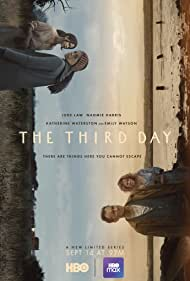 Jude Law and Naomie Harris in The Third Day (2020)