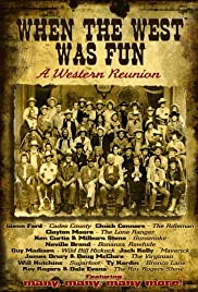 When the West Was Fun: A Western Reunion Poster