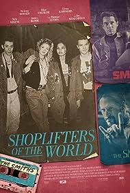 Joe Manganiello, Nick Krause, Elena Kampouris, James Bloor, and Helena Howard in Shoplifters of the World (2021)