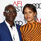 Oumar Sall and Mati Diop at an event for Atlantique (2019)
