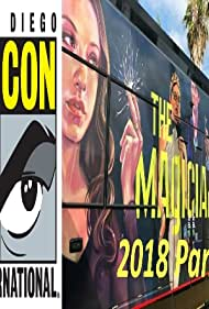 Stella Maeve, Summer Bishil, Hale Appleman, Olivia Taylor Dudley, and Jason Ralph in ComicCon 2018 - The Magicians Panel (2018)