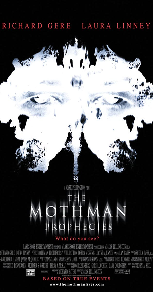 Subtitle of The Mothman Prophecies