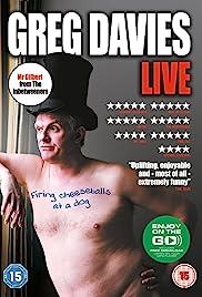 Greg Davies: Firing Cheeseballs at a Dog Poster