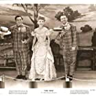 Wally Brown, Alan Carney, and Frances Langford in Girl Rush (1944)
