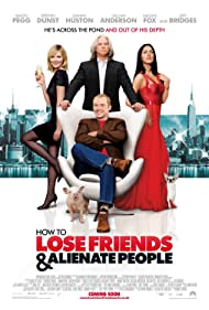Jeff Bridges, Kirsten Dunst, Simon Pegg, and Megan Fox in How to Lose Friends & Alienate People (2008)