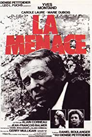 Carole Laure and Yves Montand in La menace (1977)