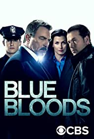 Tom Selleck, Bridget Moynahan, Donnie Wahlberg, and Will Estes in Blue Bloods (2010)