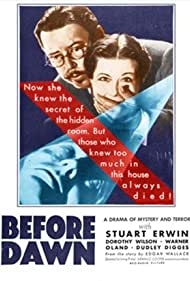 Before Dawn (1933) Poster - Movie Forum, Cast, Reviews
