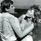 Jennifer Leak and Andrew Prine in Lost Flight (1970)