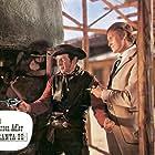 Pinkas Braun and Horst Frank in Die schwarzen Adler von Santa Fe (1965)