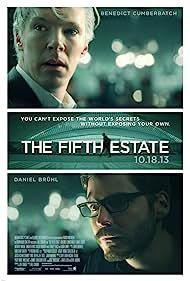 Daniel Brühl and Benedict Cumberbatch in The Fifth Estate (2013)