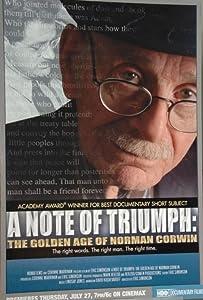 Free.avi movie clip downloads A Note of Triumph: The Golden Age of Norman Corwin [720
