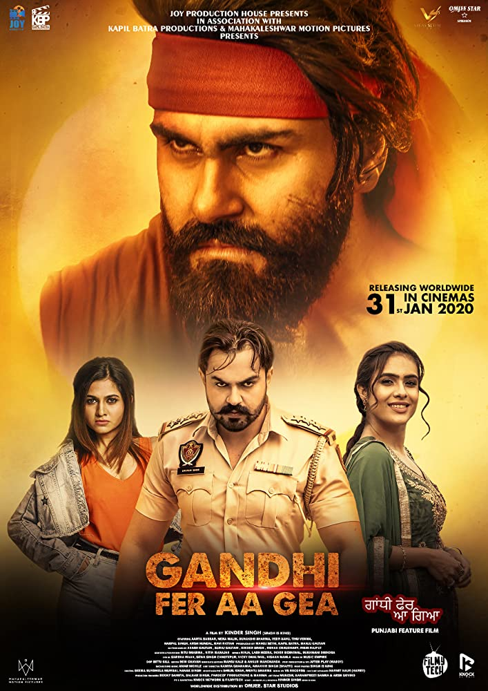 Gandhi Fer Aa Gea (2020) Punjabi 1080p HDRip 2.4GB ESub Download