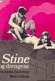 Stine og drengene Poster